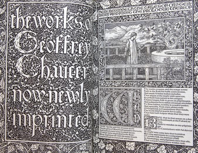 Kelmscott Chaucer (1896)